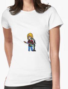Chibi Kurt Cobain Womens Fitted T-Shirt