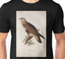 John Gould The Birds of Europe 1837 V1 V5 015 Rough Legged Buzzard Unisex T-Shirt