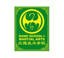 Rand School of Martial Arts Shirt Art Print