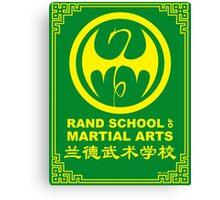 Rand School of Martial Arts Shirt Canvas Print
