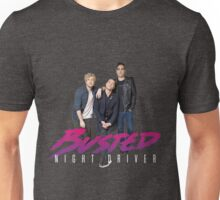 Busted Night Driver Tour Unisex T-Shirt