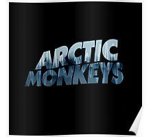 Arctic Monkeys Foggy City  Poster