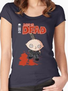 Lois is DEAD Women's Fitted Scoop T-Shirt