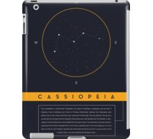 Cassiopeia Constellation iPad Case/Skin