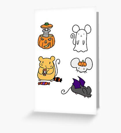 Halloween Mice! Greeting Card