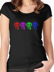 Manbot - Multi Bot Variant Women's Fitted Scoop T-Shirt
