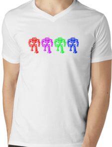Manbot - Multi Bot Variant Mens V-Neck T-Shirt