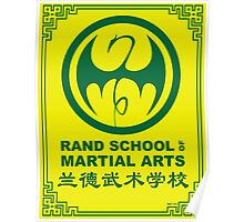 Rand School of Martial Arts Gold Class Poster