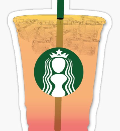 Starbucks Passion Tea Sticker