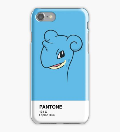 Lapras Pantone iPhone Case/Skin
