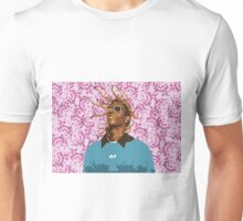 Drawn Young Thug on Petals Unisex T-Shirt