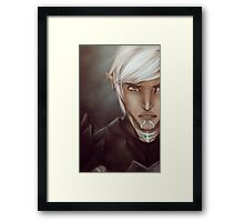 Lyrium Bound Framed Print