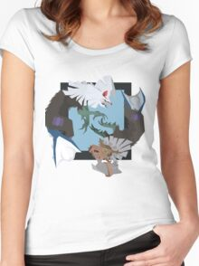 Pokemon Type:null and Silvally Women's Fitted Scoop T-Shirt
