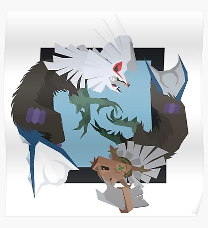 Pokemon Type:null and Silvally Poster