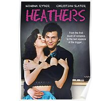Heathers (1989) Movie Poster Poster