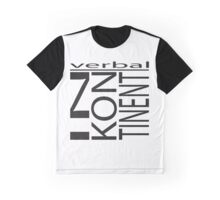 verbal Inkontinent Graphic T-Shirt