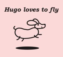 Hugo loves to fly Kids Clothes