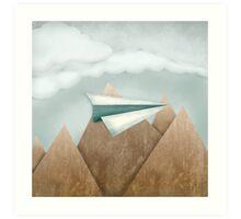 Paper Airplane 24 Art Print