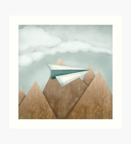 Paper Airplane 24 Art Print