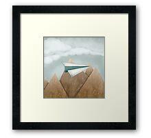 Paper Airplane 24 Framed Print