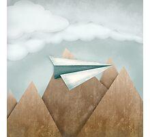 Paper Airplane 24 Photographic Print
