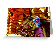Victoria Square Carousel Greeting Card