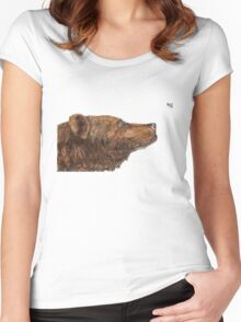 Bear Necessities by Inkspot Women's Fitted Scoop T-Shirt