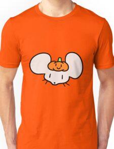 Pumpkin Mouse Face Unisex T-Shirt