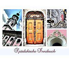 Spitalskirche Innsbruck Photographic Print