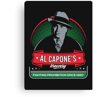 capone's brewery Canvas Print