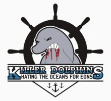 Killer Dolphins (Snorky, The Simpsons) Kids Clothes