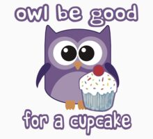 Cute! OWL be good for a cupcake by robotface