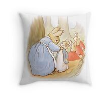 Peter Rabbit 002 Throw Pillow