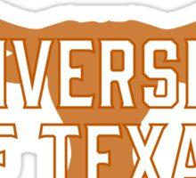 University Texas Sticker