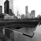 North Tower Memorial Pool by John Schneider