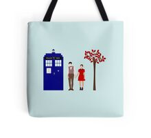 Clara and the 11th Doctor Tote Bag