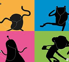 Adventure Time Bmo's Campaign (Apple iPod Parody). by Aguvagu