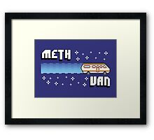 Meth Van Framed Print