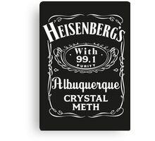 Heisenberg Pure Meth Canvas Print
