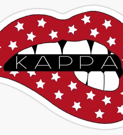 Kappa American Lips Sticker