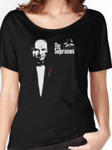The Sopranos (The Godfather mashup) Women's Relaxed Fit T-Shirt