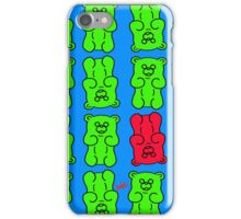 Gummy Bears Green and Red iPhone Case/Skin
