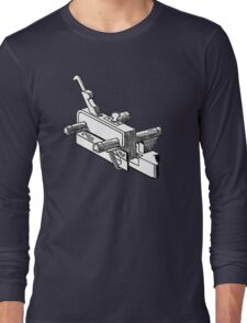 Woodworker Plow Plane c1866 Long Sleeve T-Shirt