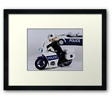Call the Cops Framed Print