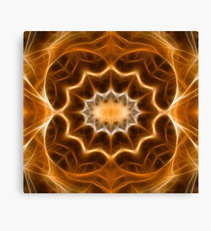 Fractal abstract color pattern Canvas Print