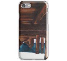 Under the boardwalk iPhone Case/Skin