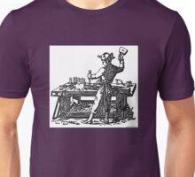 Toolemera Press Logo - The Woodworker Unisex T-Shirt