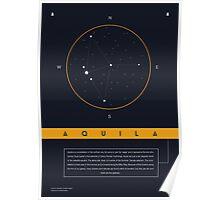 Aquila Constellation Poster