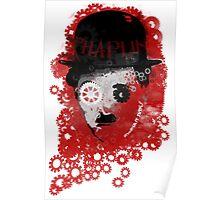 Charlie Chaplin Modern Times Machine Poster