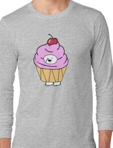 Ice Bear likes Cupcakes Long Sleeve T-Shirt